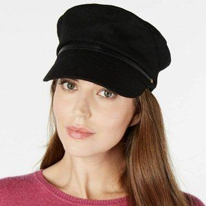 Nine West Wool Cap Black OS NWT! $38